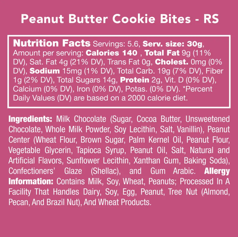 Candy Club - Peanut Butter Cookie Bites