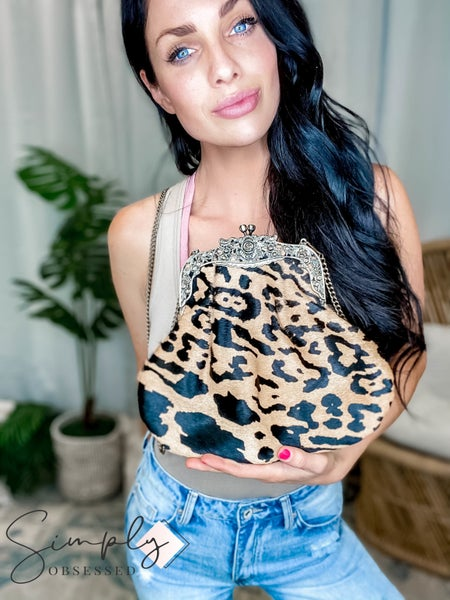 American Darling - Large Clutch Coin Purse w/Chain