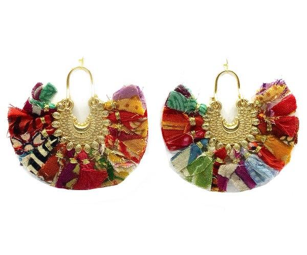 WORLD FINDS - Colorful Ornamental Chandelier