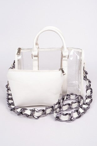 ILLord - Bulk leather chain crossbody bag
