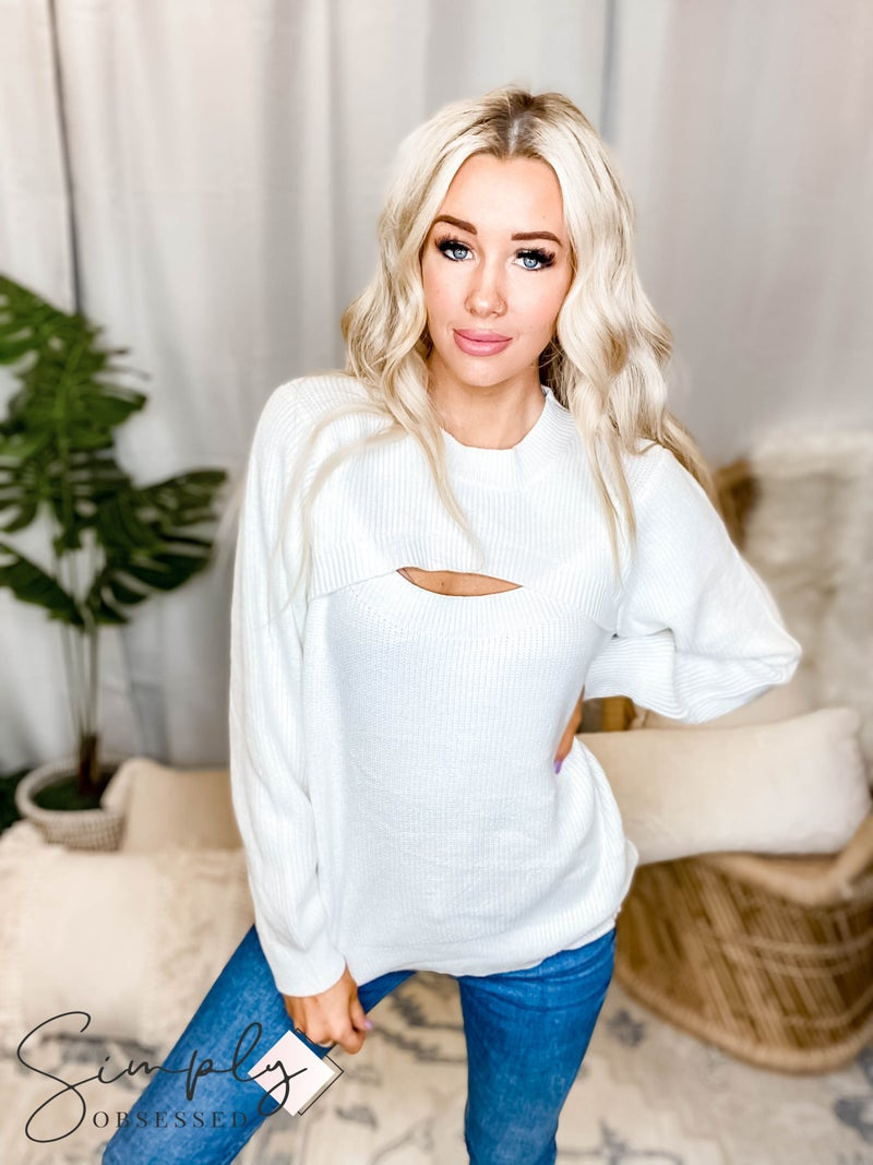 Esley Collection - Long Sleeve Sweater Top