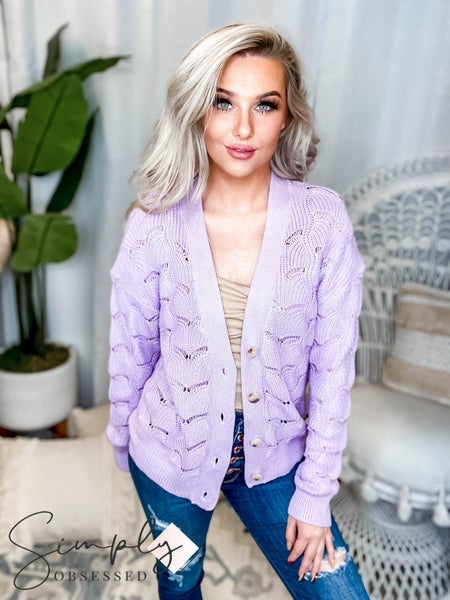 Andree By Unit - Textured Knit Cardigan