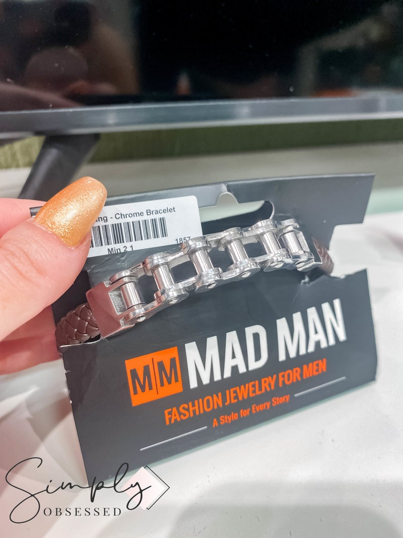 Atlanta Mad Man First Dibs Sale - Road King Chrome Bracelet