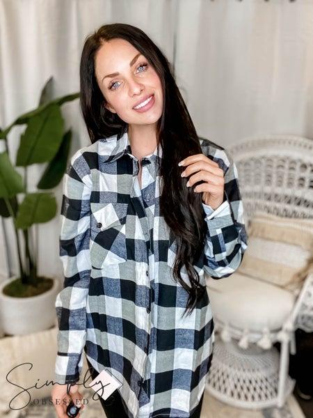 Dallas Bling A Gogo Pre-Sale - Black & White Flannel