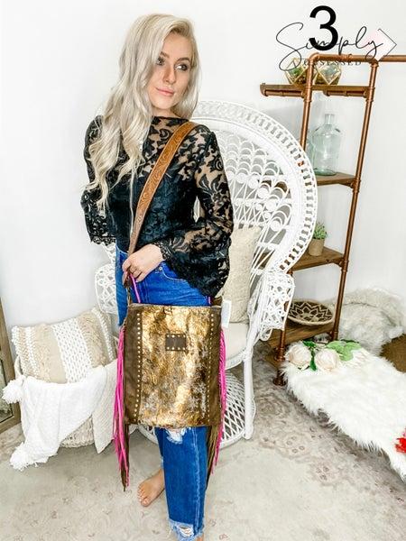 Keep it Gypsy - Tassel detail cross body bag