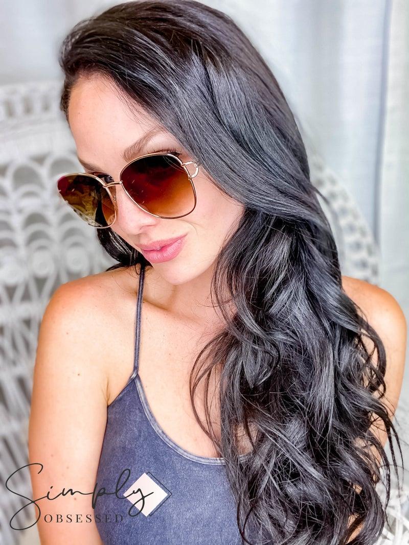 Large Lenses Sunglasses