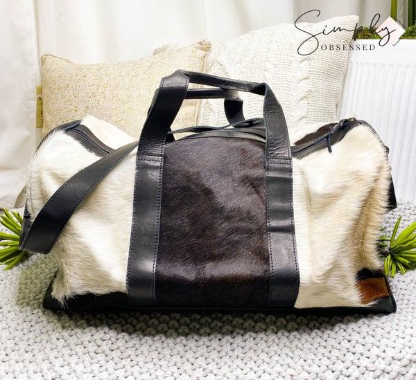 American Darling Large Hide Duffle Bag