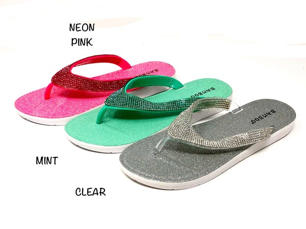Lets See Style - Casual flip flop jelly sandals