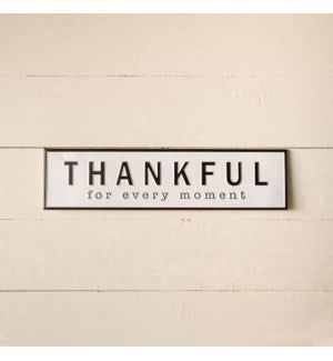 VIP ATL - Antique Finish Printed Thankful Sign