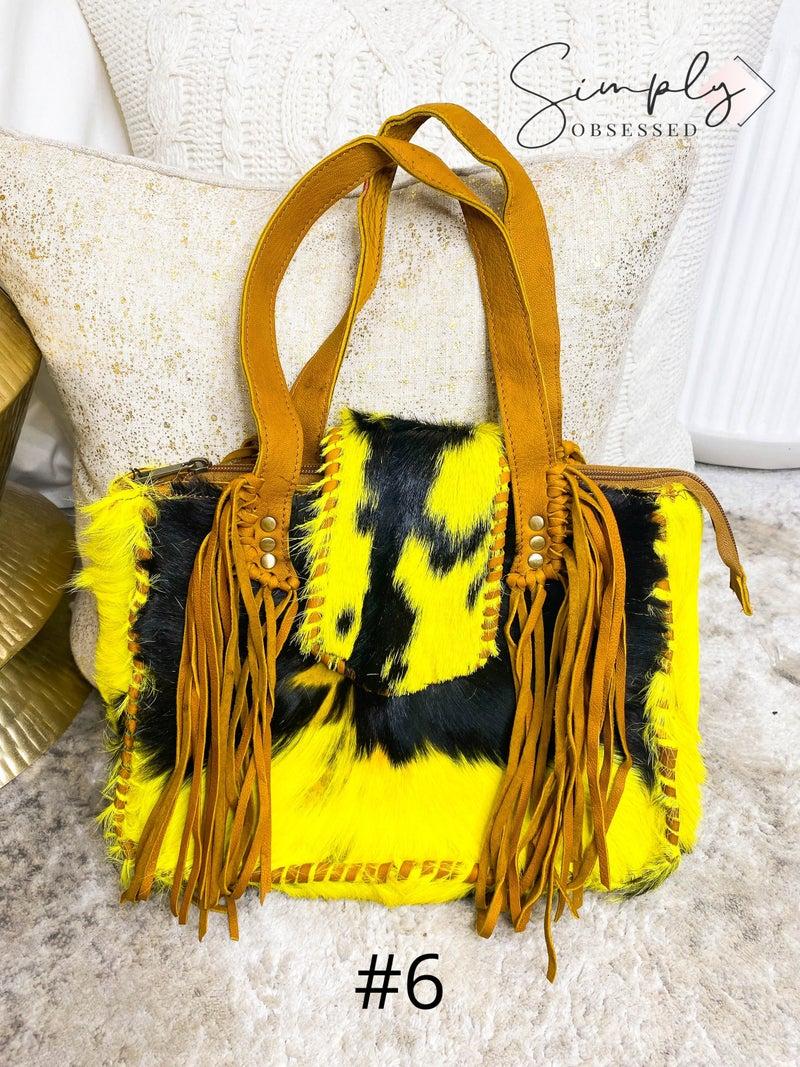 American Darling - Tassel and front flap detail cross body bag