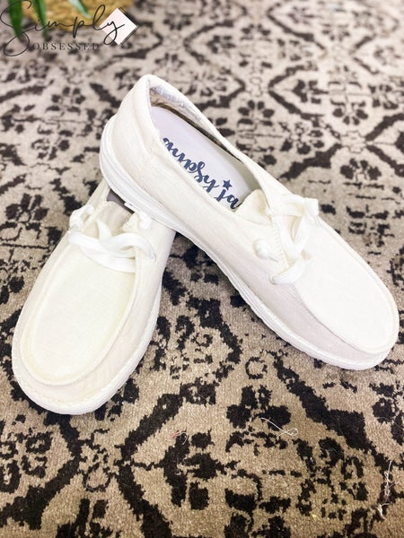 Gypsy Jazz - Slip On Lace Shoes