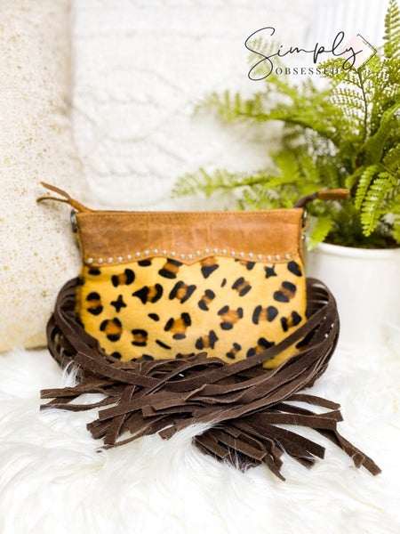American Darling - Cheetah print wallet purse