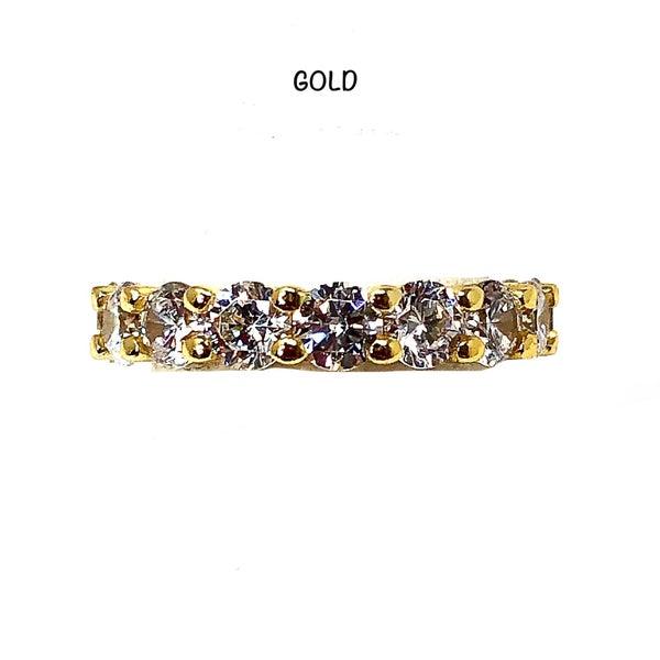 HUGE DIAMOND CZ Crystal Ring