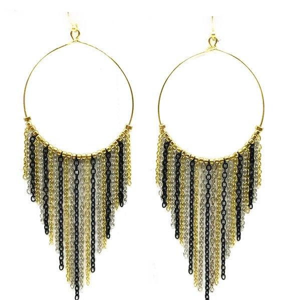 WORLD FINDS - NYE Hoop Earrings