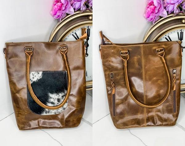 American Darling - Leather medium handbag