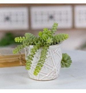 VIP ATL - Hand Molded Antique Ceramic Pot