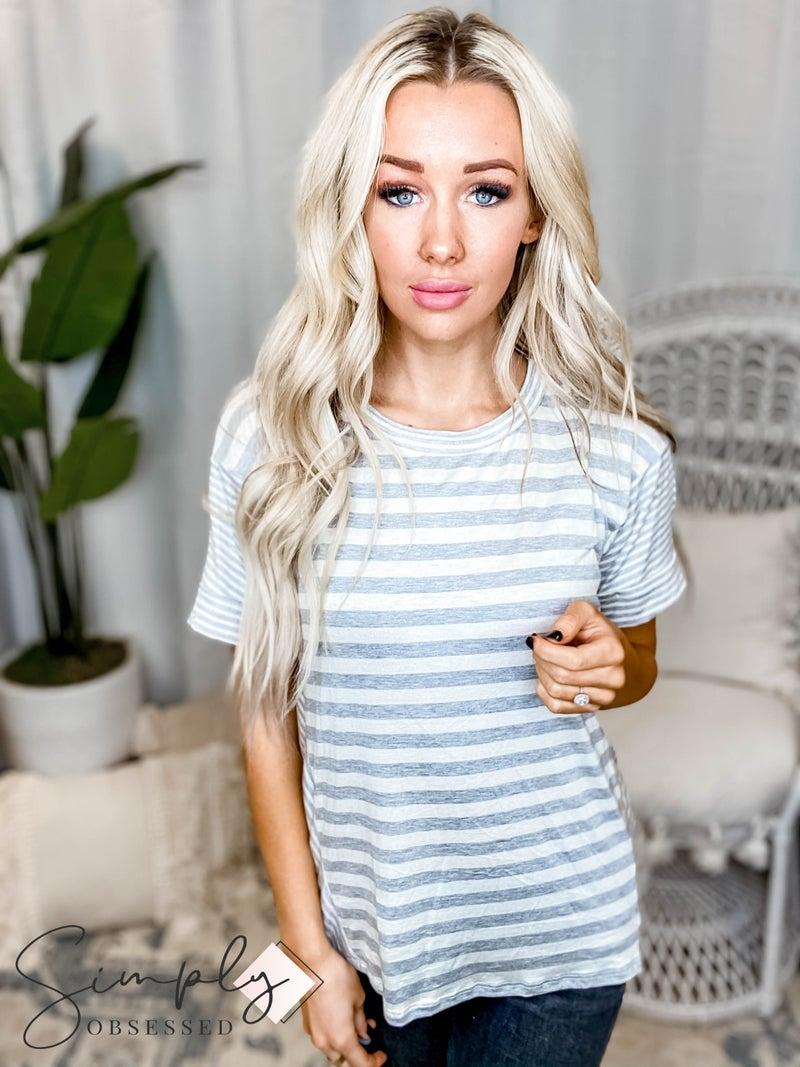 Sew In Love - Boxy Stripe Top