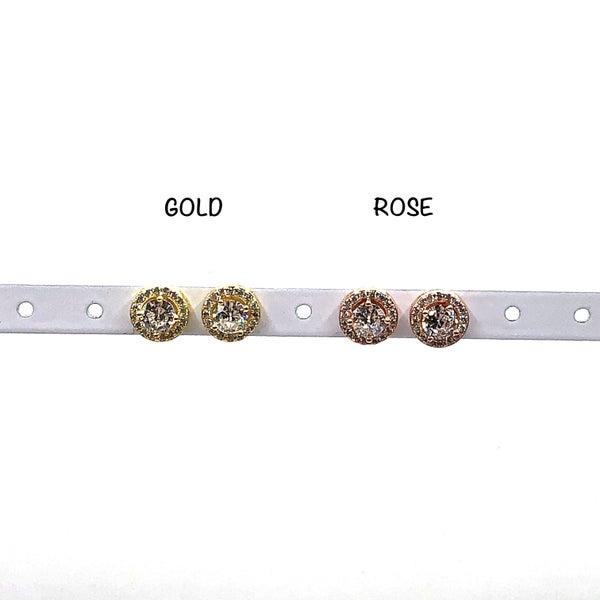 LAALEE - Crystal Stud Earrings