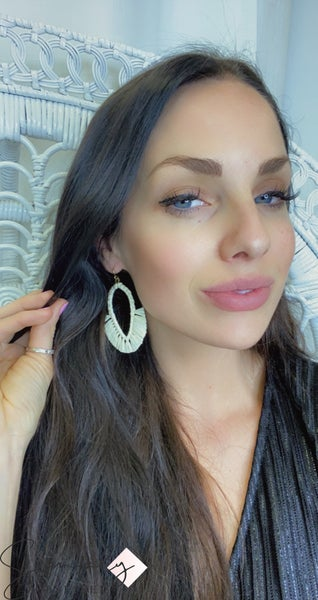 WORLD FINDS - Boho Teardrop Fringe Earrings