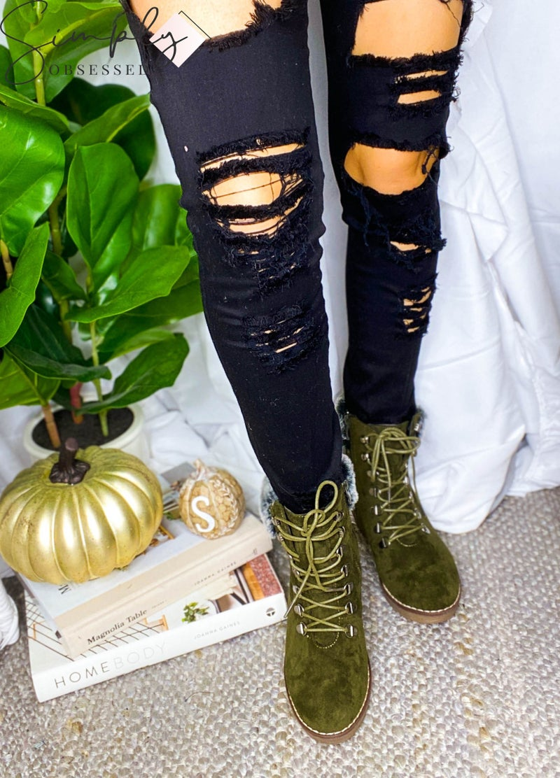 Corkys - Boots with Side Zipper