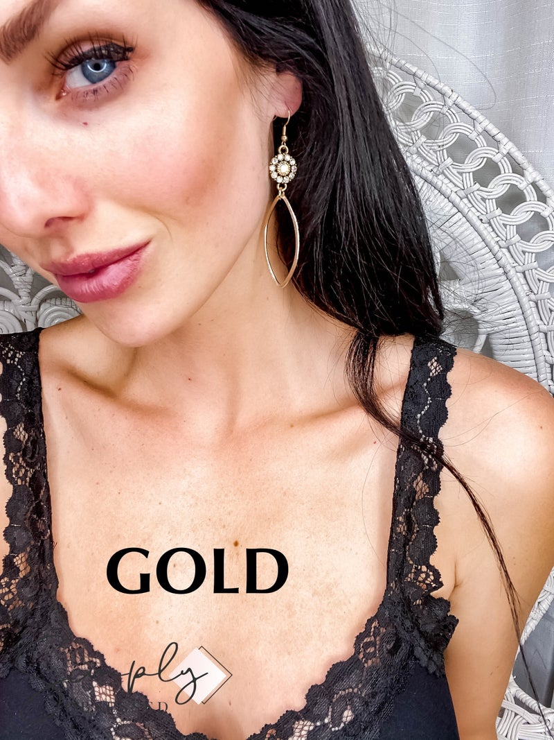 ShannAgains Jewels - Stone Earrings