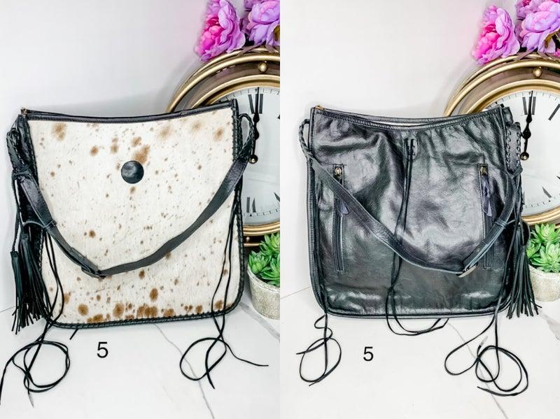 American Darling - Tassel detail adjustable cross body bag