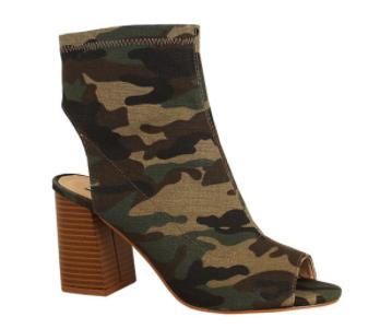 William Rast - Single sole peep toe ankle sock bootie