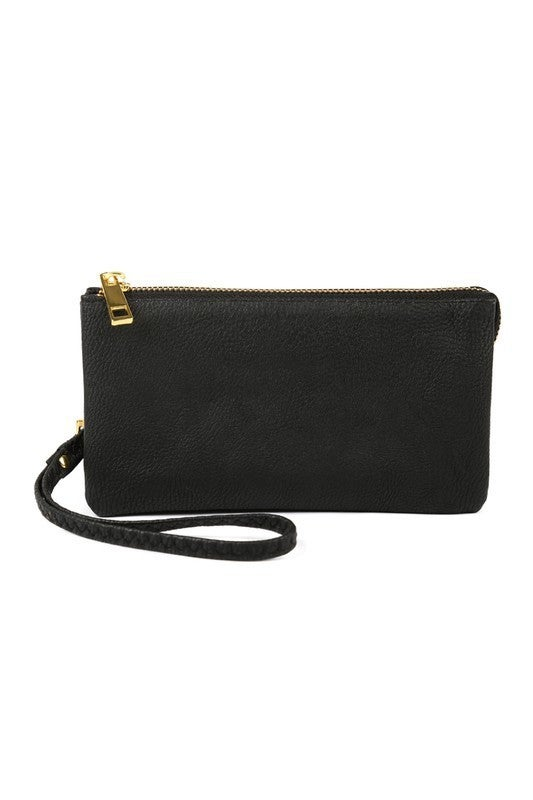 MYS - Leather Wallet With Detachable Wrsitlet