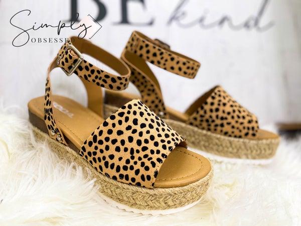 ccocci - Ankle Strap Espadrille Platform Heel Dressy Sandal