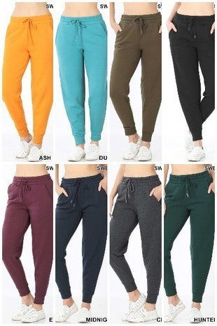 Jogger Sweatpants with waistband and pockets