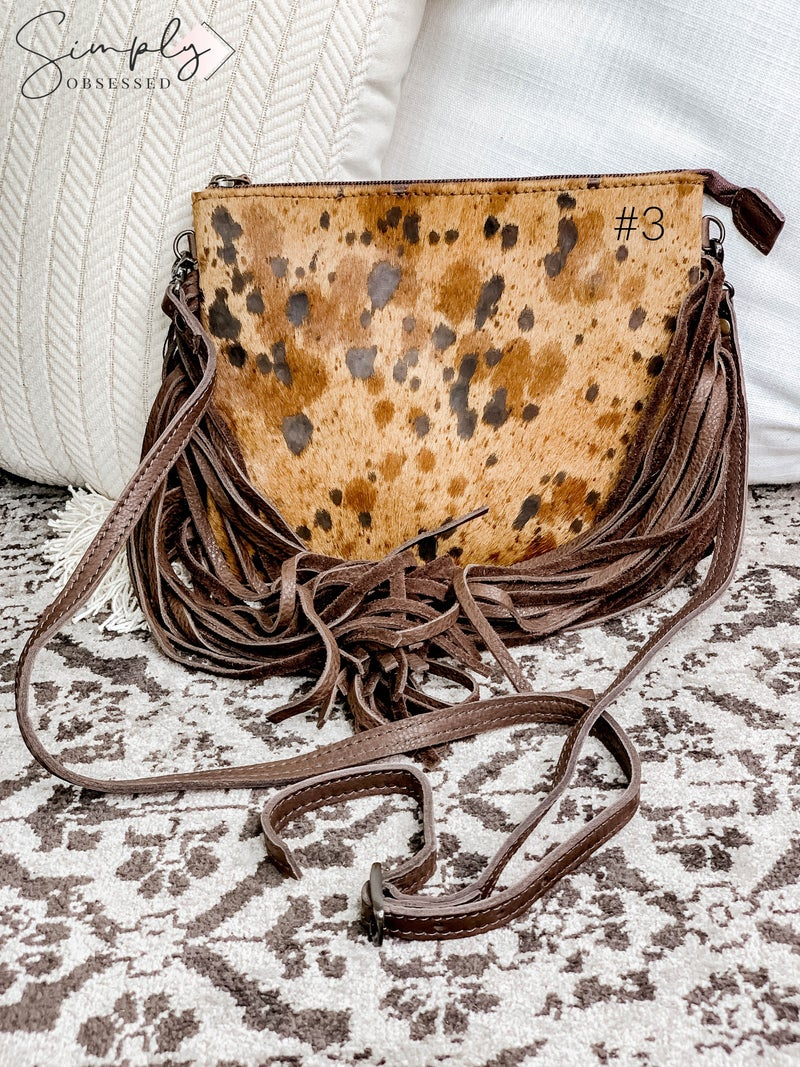 American Darling - Acid wash tassel detail small cross body bag