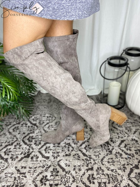 Miracle Miles - Over the Knee High Boots