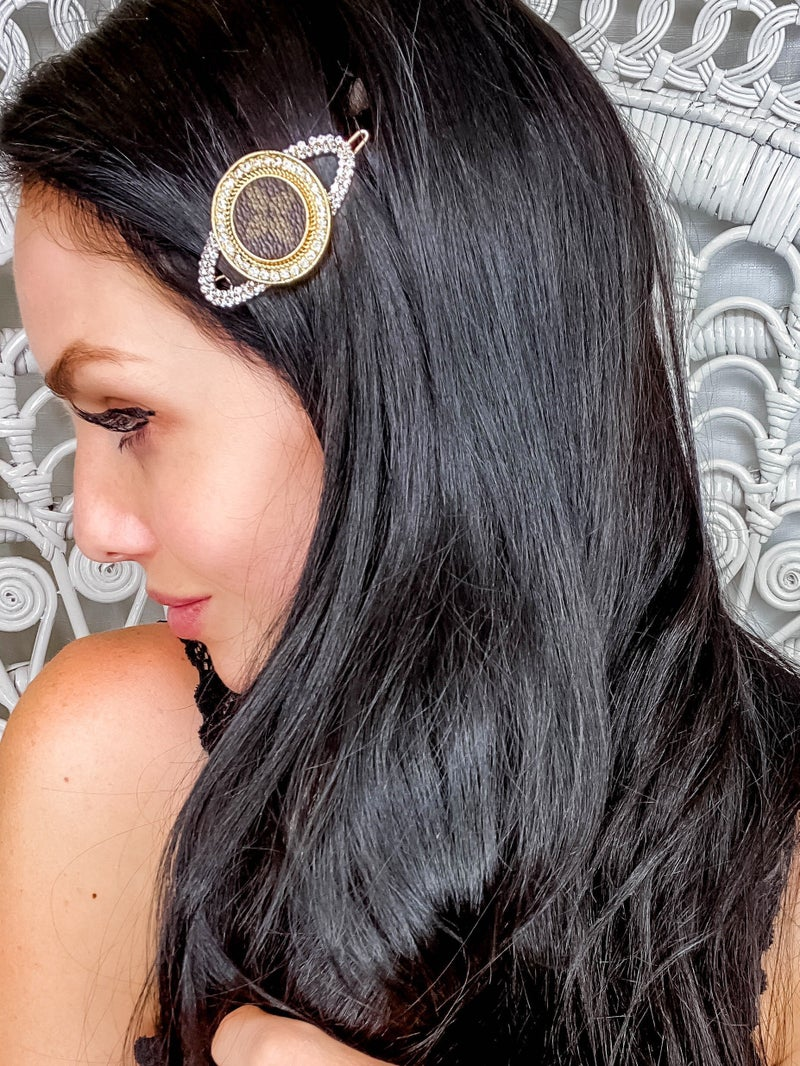 Up Cycled - Vintage Gold Barrettes