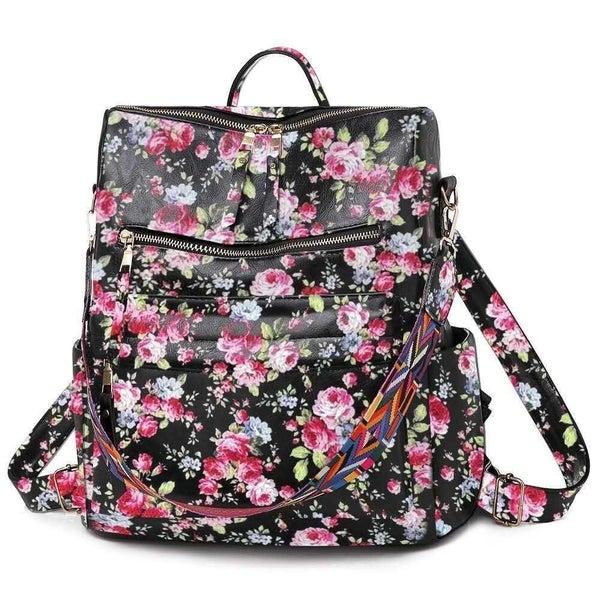 Julia Rose - Floral convertible bag