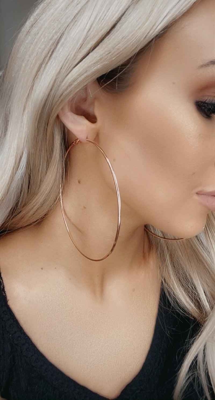Boho Love - Oversized Hoop Earring