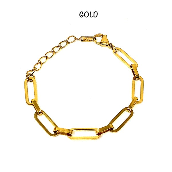 HippieChic - gold chained linked bracelet