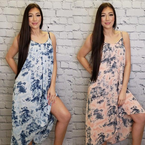 GeeGee - Tie dye maxi dress(plus)