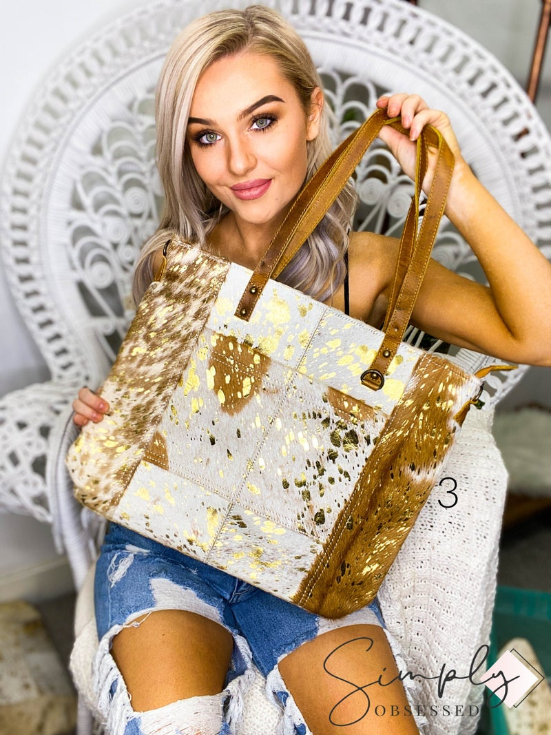 American Darling - Acid wash conceal carry pocket cross body bag
