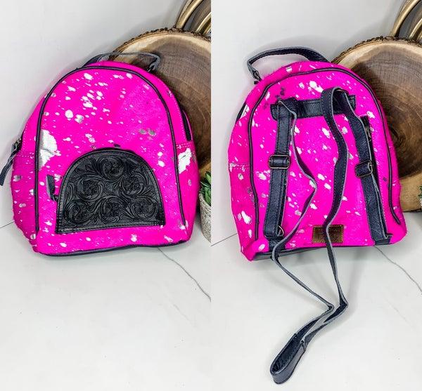 American Darling - Small leatherwork backpack