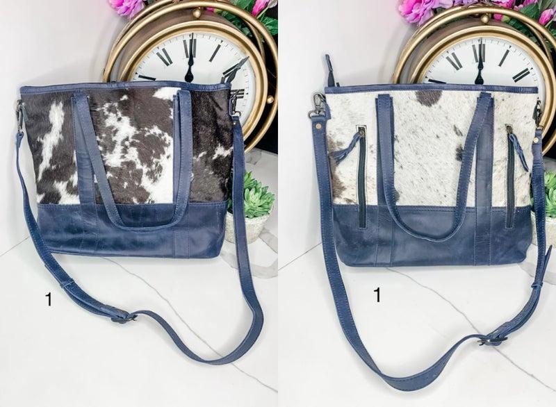 American Darling - Leather detail cross body bag