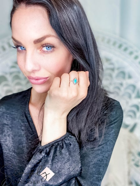 Sowell Jewelry - Kal Turquoise Ring