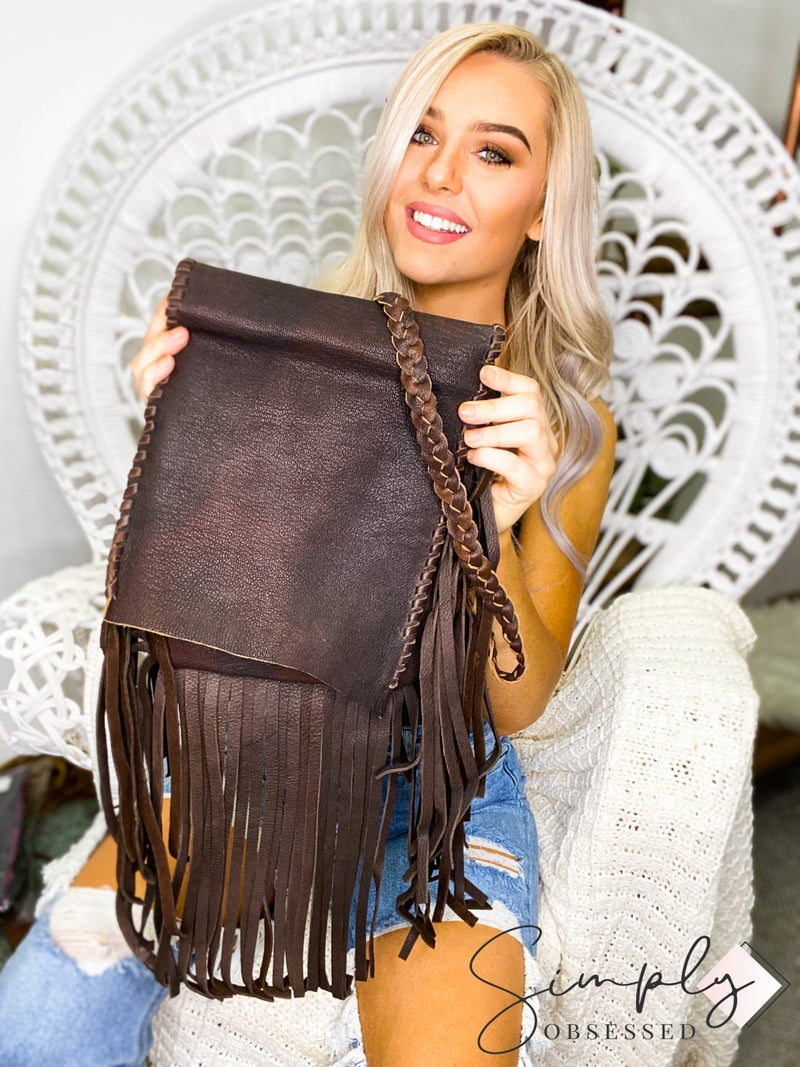 American Darling - Tassel detail small cross body bag