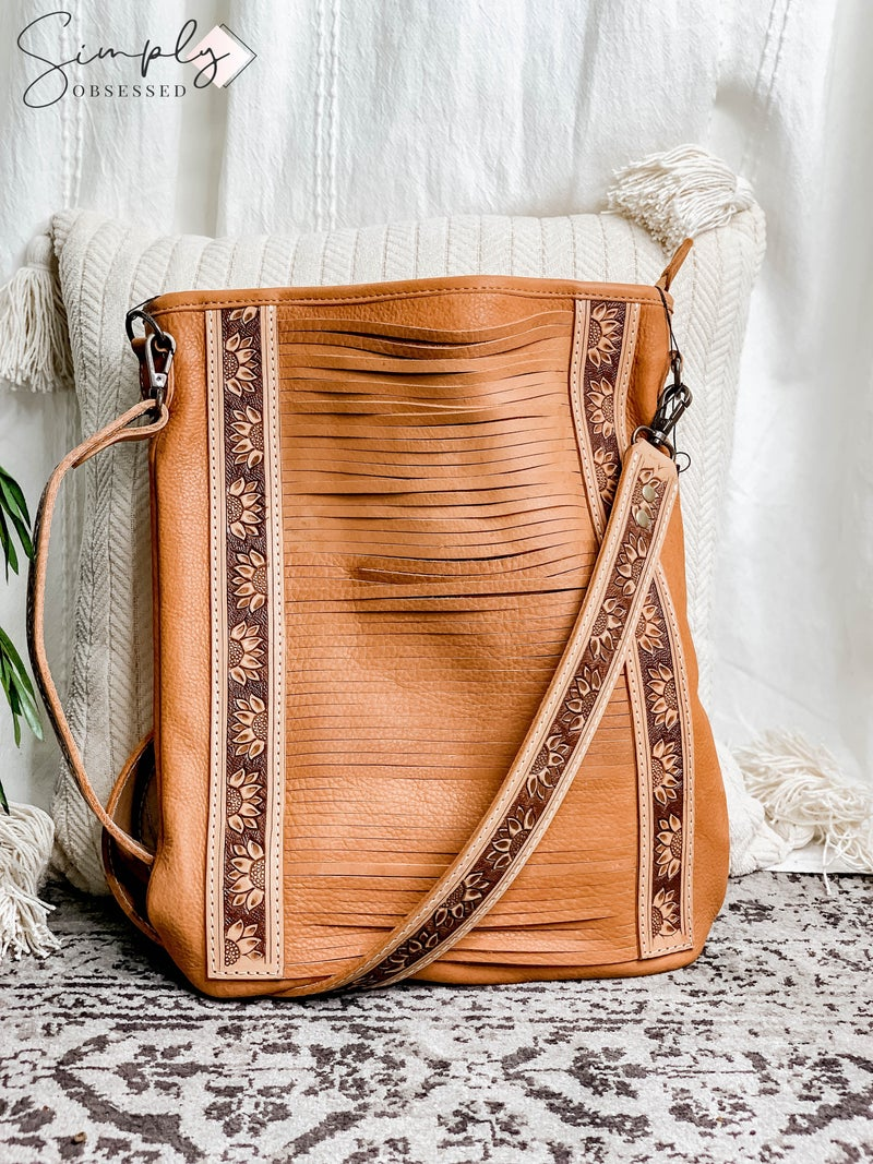 American Darling - Hand crafted leather work bag