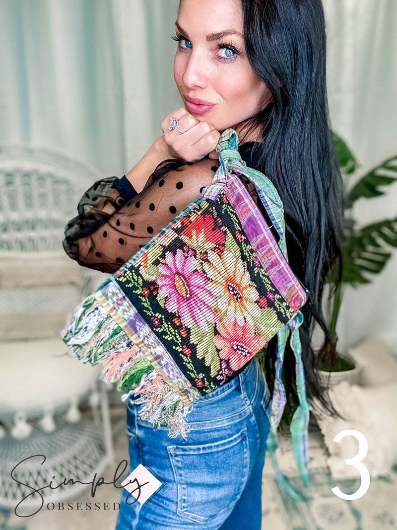 Lucia's Imports - Mini Fringe Purse #2