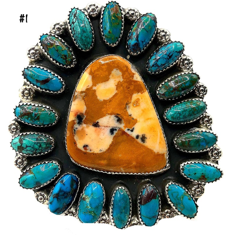 M&S - Unique Bambi Turquoise Ring