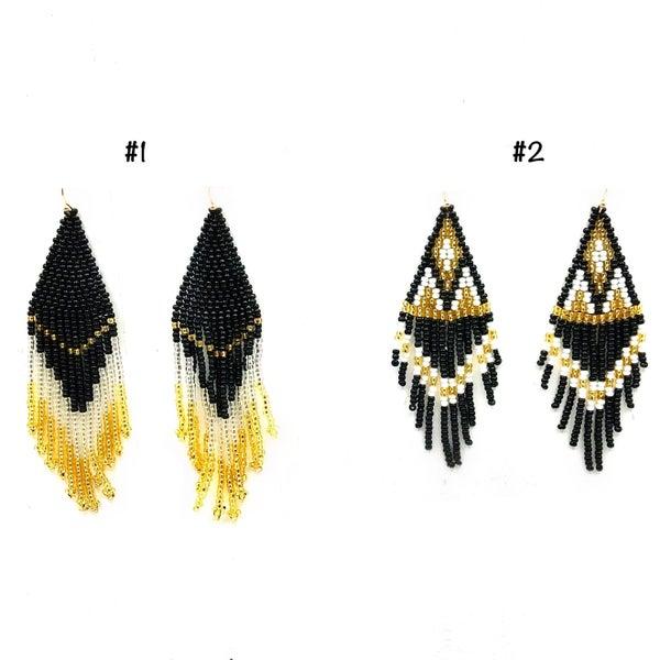 FOSTERIE - Rosavie Beaded Earrings