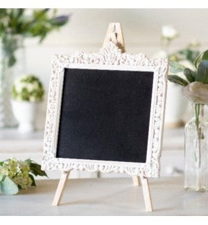 VIP ATL - Embellished Wood Distressed Paint Chalkboard