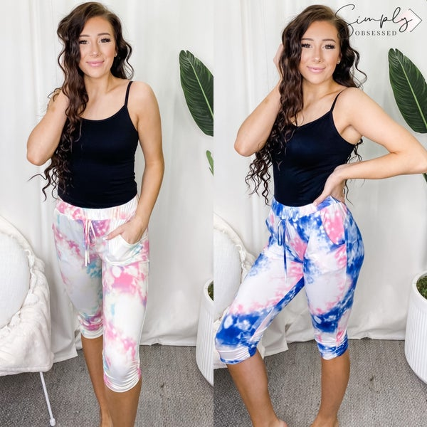 EG - Water color effect joggers