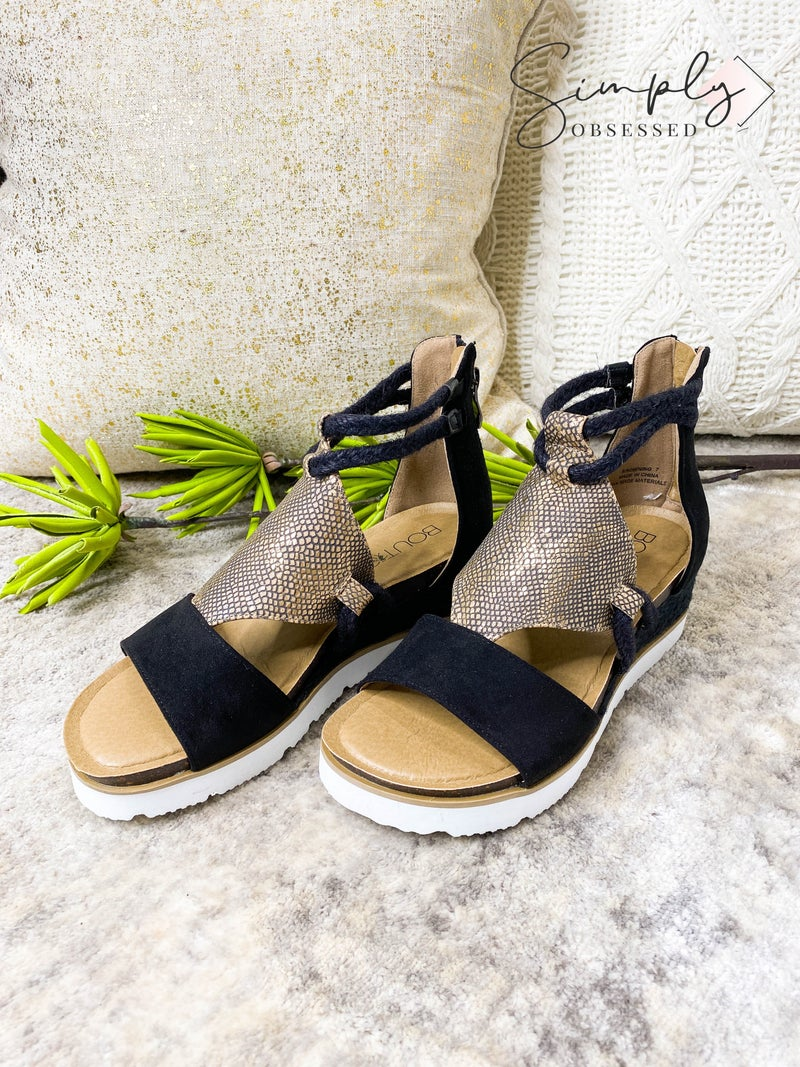 Boutique by Corkys - Strappy heeled chunky sandals
