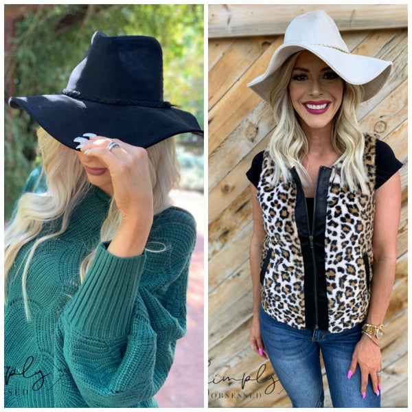 Fame Accessories- 100% polyester floppy hat (one size fits most)